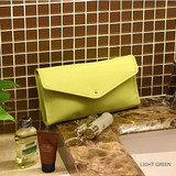 Light green - Holiday travel hanging toiletry pouch bag