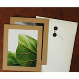 Square 8X10 Kraft paper photo frame with envelope