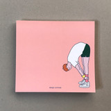 Memowang pastel boy illustration memo pad
