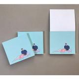 Memowang pastel couple illustration memo pad