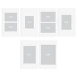 Size - Pieces of moment self adhesive photo album ver2