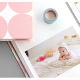 Example of use - Pieces of moment self adhesive photo album