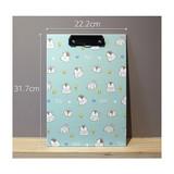 Size - Pochapeng penguin pattern A4 clipboard