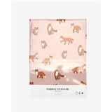 Dailylike Deco fabric sticker 1 sheet A4 size - Winter fox