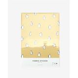 Dailylike Deco fabric sticker 1 sheet A4 size - Penguin yellow