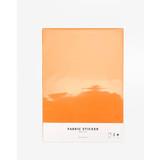 Dailylike Deco fabric sticker 1 sheet A4 size - Sun orange