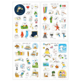 Livework Todac Todac removable deco sticker set
