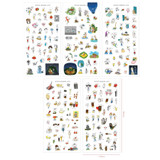 Livework Todac Todac transparent clear deco sticker set ver7