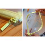 zip lock - N.IVY Pochapeng dance dance clear zip lock multi pouch
