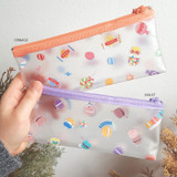 Option - N.IVY Buri clear zip lock multi pouch