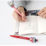 B set - Romane Hello Korea black gel pen set 0.38mm