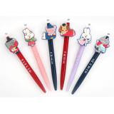 Romane Hello Korea black gel pen 0.38mm