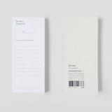 Gungmangzeung The Memo so very thankful diary memo notepad