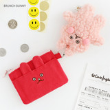 Brunch bunny - Brunch brother doll zipper card case