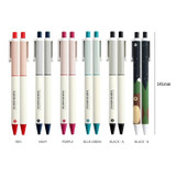 ICONIC Mild quick drying retractable color gel pen 0.5mm