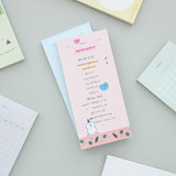 Memory planning notepad