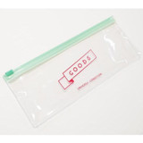 Goods transparent clear zip lock pouch
