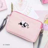 Panda - Tailorbird pastel side crossbody bag