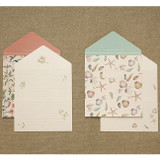 Livework Proust pattern folded card set