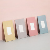 Livework Simple pastel folded card set