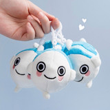 Ggo deung o small soft plush fish doll