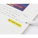 Ruled paper - Wanna This Clear spiral lined notebook
