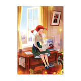 Indigo Fairy tale 108 piece jigsaw puzzle - Daddy long legs