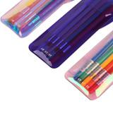 Detail of Hologram pocket jelly pencil case