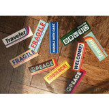 Decorative multi message sticker set