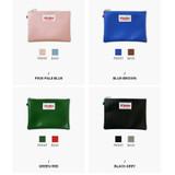 Colors of Etudes two tone color medium zipper pouch
