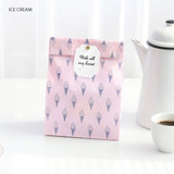 Ice cream - ICONIC From my heart cute gift paper bag set