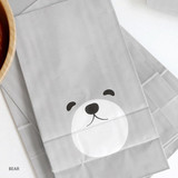 Bear - ICONIC From my heart cute gift paper bag set
