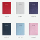 Colors of Notable memory quad lined and plain notebook