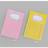 BNTP Title sticky it memo note pad