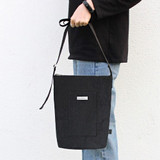 Black - BNTP Washer daily medium crossbody bag