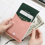 Zipper pocket - BNTP Washer flat long multi pouch