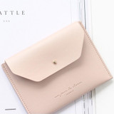 Indi pink - Un jour de chance pocket flat wallet