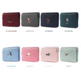 Colors of Tailorbird embroidery 15 inches laptop case