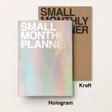 Colors of Small 16 months undated monthly planner