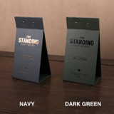 Colors of The standing small clipboard