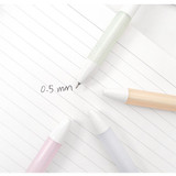 2Young My plus black knock retractable gel pen 0.5mm