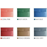 Color - Play obje Extra opening of new days file bag clutch pouch