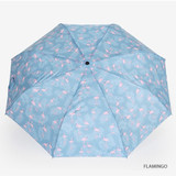 Flamingo - Enjoy your life foldable pattern umbrella