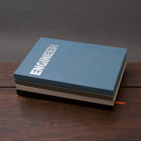 Engineer hardcover grid notebook