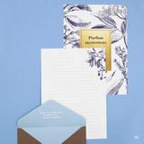 05 - Blossom illustration letter paper and envelope set