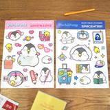 N.IVY Pochapeng multi big deco sticker