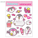 Love Love - N.IVY Pochapeng multi big deco sticker