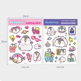 Size - N.IVY Pochapeng multi big deco sticker