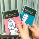 N.IVY You and I clearpassport cover case holder