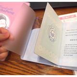 N.IVY Pochapeng clear passport cover case holder